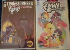 My Little Pony Transformers #1 + My Little Pony #1 2020 ComicCon SDCC