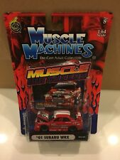 1/64 Muscle Machines Import SS Tuners 2001 Subaru Impreza WRX Bugeye RED