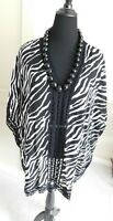 """Liz Lang tunic  31"""" long ,70"""" wide. Sort of a one size fits Med to 2-3X"""
