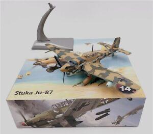WLTK German Junkers Stuka Ju-87 Dive Bomber 1/72 Diecast Model