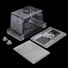 Floating Aquarium Fish Breeding Tank Breeder Box Fry Trap Hatchery Nursery Tool