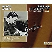 "CD x 2 PHILIPS Great Pianists 20th Century 50: 456 847-2 ""Byron Janis I"" Liszt.."