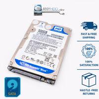 "New Western Digital WD5000BPVT Scorpio Blue 500GB Internal 5400RPM 2.5"" HDD"