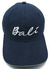 BALI blue adjustable cap / hat