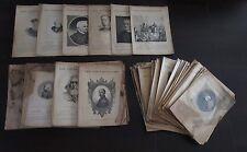 Lot d'anciennes revues LES CONTEMPORAINS (1893 à 1894)
