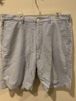 Polo Ralph Lauren Preston Fit Mens Size 38 Tall L Light Blue Shorts