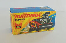 Repro box MATCHBOX superfast Nº 26 BIG BANGER