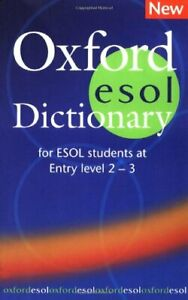 Oxford ESOL Dictionary (Elt) by VARIOUS Hardback Book The Cheap Fast Free Post