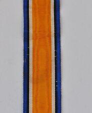 Grande Bretagne: Ruban de la médaille commémorative 14-18,14 cm, tissage ancien