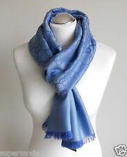 Gucci señora de lujo bufanda lana seda 45x180 nuevo con Gucci embalaje 165904