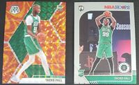 2019-20 Panini Mosaic Basketball #244 Tacko Fall Orange Reactive Prizm RC Lot