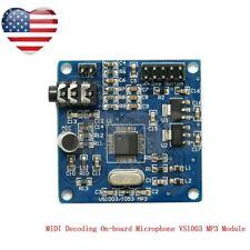 MP3 WMA WAV MIDI  Decoding On-board Microphone 16-bit adjustable-chip ADC