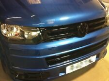 VW Transporter T5 Front Rear Set Gloss Black Badge Logo Bonnet Boot Emblems