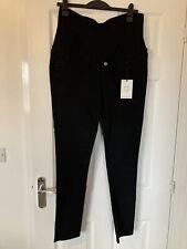 Black Maternity Skinny Jeans Size 14