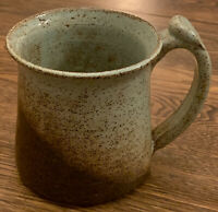 Studio Art Pottery Mug Cotttage Pottery Chardon Ohio 20oz