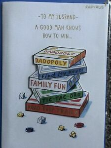 PAPYRUS Father's Day Card:  To my Husband, Knows How to Win, Amazing Dad