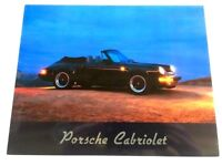 1985 Porsche 911 Cabriolet Print 8x10 #W207 - Photo Card