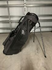 New Titleist Linksmaster Members Premium Stand Bag Double Straps Limited - Ash