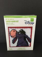 Disney Home Eeyore Latch Hook Kit 13×13″ Caron Lookin Up Wp0018 New in Box