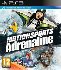 Motionsport Adrenaline  PS3  sigillato PLAYSTATION MOVE RICHIESTO