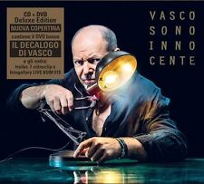 VASCO ROSSI - SONO INNOCENTE - CD+DVD SIGILLATO DELUXE EDITION 2015