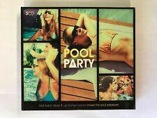 Pool Party CD: Avicii/Moloki/Soul II Soul/Wookie/Donna Summer.. VG, BW18