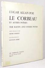 Le Corbeau et autres PoŠmes by Edgar Allan Poe (Gustave Dor' Illus)- High Grade