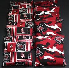 South Carolina Gamecocks 8 Cornhole Bean Bags/ Baggo Toss Game Quality Handmade!