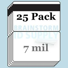 7 mil HiCo Mag Stripe CC-Size Butterfly Laminate Pouches for Teslin - 25 pack