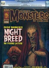 Famous Monsters of Filmland #252 CGC 9.8 NM Night Breed Cover