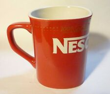 NESTLE Red Mug Cup 100 Years NESCAFE COFFEE MALAYSIA Promotional 2014 Nestle
