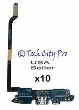 Lot of 10 Samsung Galaxy S4 IV USB Charging Port & Mic AT&T I337 Flex Cable