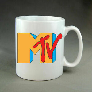 MTV 90's Logo Mug Music Television Retro Nostalgia Gift Present