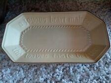 Vintage Pfaltzgraff 528 Specialty Country Bread Platter