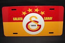 GALATASARAY FC METAL CAR LICENSE PLATE FOR CARS...(CIM BOM BOM) TURKISH SOCCER