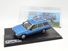 Prensa Ixo 1/43 - Opel Rekord Caravana 1982 Azul