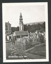 Middelburg  Lange Jan (fotootje ter grootte van een halve ansichtkaart)