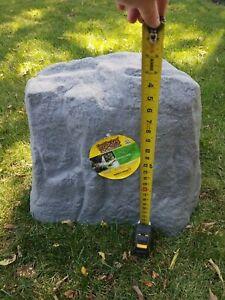 Garden Faux Rock Landscape Patio Decor Outdoor Yard Artificial Stone Cover Box
