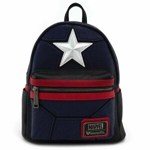 LOUNGEFLY RARE NEW Captain America Mini Back Pack