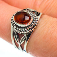 Citrine 925 Sterling Silver Ring Size 8.25 Ana Co Jewelry R45675F
