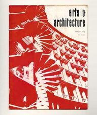 1958 Le Corbusier ARTS + ARCHITECTURE Craig ELLWOOD Beatrice WOOD Philip JOHNSON