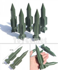 5 pcs Military Rocket Missile Models Plastic Toy Soldier Army Men Accessories