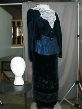Victorian Dress Edwardian Costume Civil War Reenactment Style Outfit