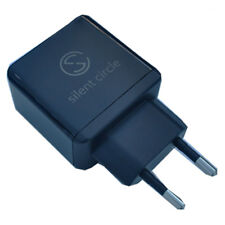 New Silent Circle Power Adapter Kit (Euro 2-Pin Plug) for Blackphone 2