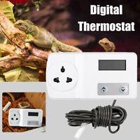 Digital Thermostat Controller Reptile Snake Lizard Heat Mat Incubator   UK G