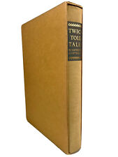 TWICE TOLD TALES Nathaniel Hawthorne ~ 1966 ~ Heritage Press ~ w Hard Slipcase