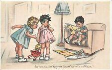 GERMAINE BOURET (illustrateur) les hommes, c'est toujours fourré...(438)