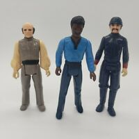 Vintage Star Wars Bespin Figure Lot - Lando Calrissian Bespin Guard Lobot