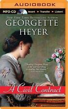 A Civil Contract by Georgette Heyer (2014, MP3 CD, Unabridged)