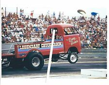 Vintage Drag Racing-the LEGENDARY CHUCKWAGON-1957 VW Pickup Wheelstander